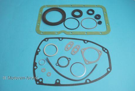Short engine gasket kit all models up to 08/1978