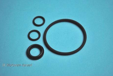O-ring set f. Oil pan intermediate ring with external oil fi