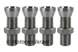 Lightweight steel valve adjusters (4pc)