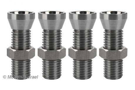 Ventileinstellschrauben Stahl leicht (4Stück)