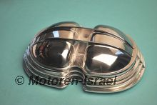 Cylinder head covers high polished (2pc)