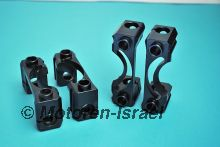 One piece steel rocker spindle supports (4pc)
