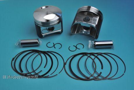 Piston kit 93.94mm for 1000cc NIKASIL (2pc)