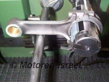 Honing connecting rod big end
