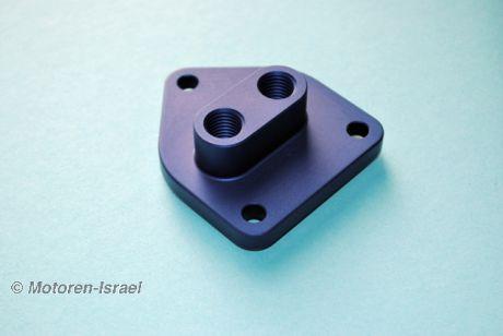 Ölfilterdeckel für Modelle mit Ölkühler ohne Bypassbohrung