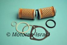 Oil filter set with oilcooler OX36D