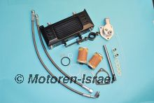 Oil cooler -four season- with oil thermostat