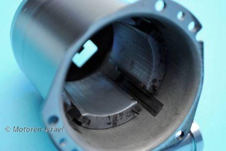 Feldgehäuse für Valeo Anlasser (Magnetgehäuse) 4V Boxer
