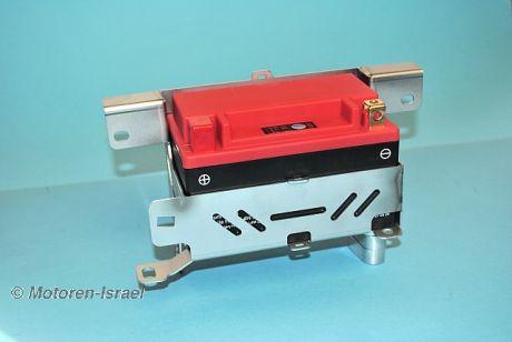 Battery holder R100R, R100GS Paralever & Lithium Ionen Akku