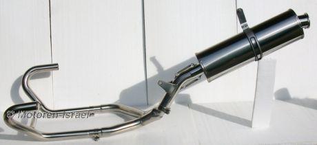 2-1 Komplettanlage R80/100GS aus Edelstahl