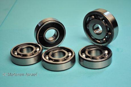 Gearbox bearing set (5 ball bearings)