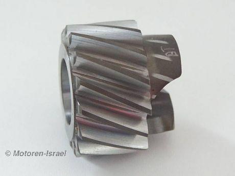 Gear helical input shaft 17.5° models 04.1982-03.1985