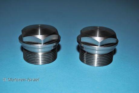 Gabelverschlussmutter-Set für 36 mm Gabel (2St.)