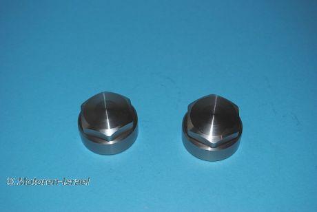 Gabelverschlussmutter-Set für 38,5 mm Gabel (2St.)