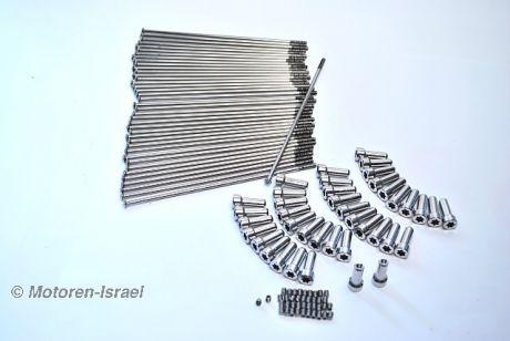 Spoke kit 17 for rearwheel Paralever