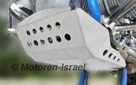 Motorschutz R80/100GS Paralever 4mm aus Alu