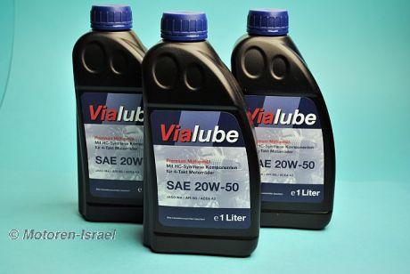Vialube 20W-50 Premium Motoröl für den Boxer (3Ltr.)