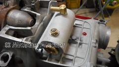 Abdeckung Anlasser Caferacer mit Ölsammelbehälter