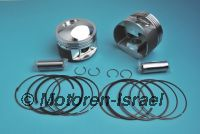 Sportpistons (2 pc) 1000cc -8mm MADE IN GERMANY!!!
