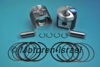 Piston kit (B=84,77) 800cc (2pc) MADE IN GERMANY