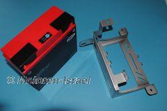 Set LI Batterie schmal & VA Batteriekasten für R100GS/R