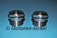 Fork-cap nut-set for afterm. 36mm Fork (2pcs)